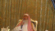 Photo of سماحة المفتي يشيد بجهود الشيخ العبودي والثلوثية
