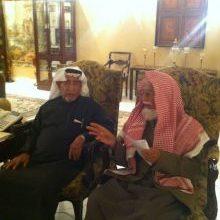Photo of معالي الشيخ العبودي يزور الدكتور عبدالعزيز الخويطر